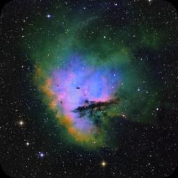 NGC281 Hubble Pacman