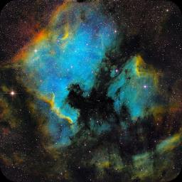 NGC7000 SHO